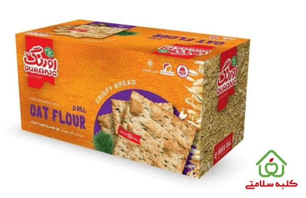 نان سنتی کاک حاوی آرد جو دو سر اورنگ مقدار 400 گرم