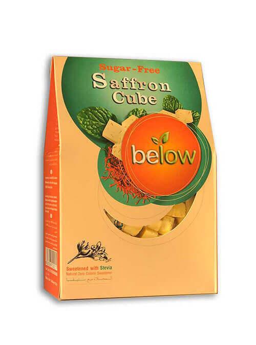 حبه بدون شکر با طعم زعفران ۴۲۰ گرمی