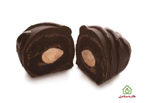 خرما با روکش شکلات تلخ